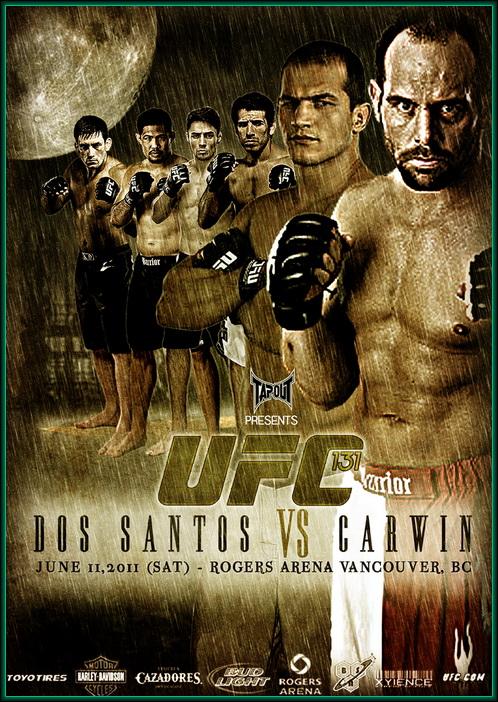 دانلود یو اف سی 131 | UFC 131: Dos Santos vs. Carwin