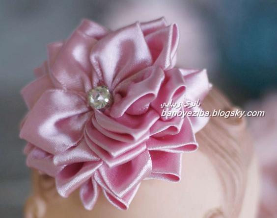 گل پارچه ای فانتزی