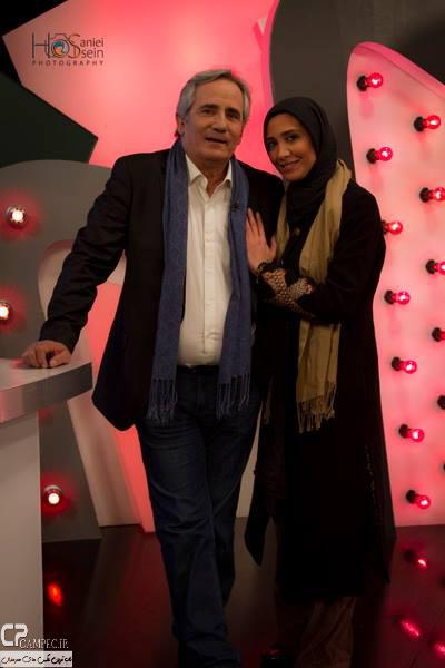 مجید مظفری و دخترش نیکی در برنامه امروز هنوز تموم نشده