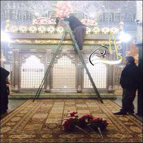 ضریح حضرت زینب (س)