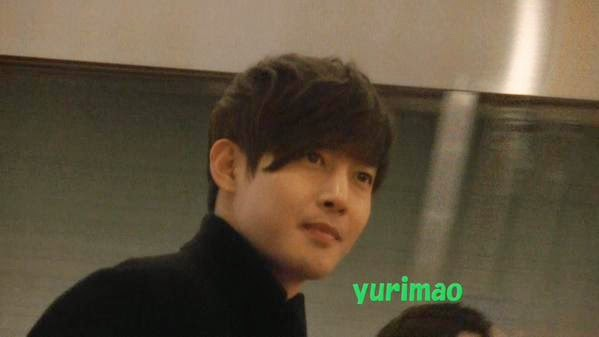 [KIMHYUNJOONG PERFECT Fancam] Kim Hyun Joong - Arrived Haneda Airport [15.01.09]