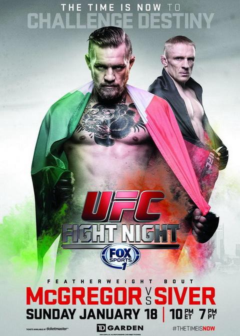 دانلود یو اف سی فایت نایت 59   UFC Fight Night 59 : McGregor vs. Siver-نسخه ی H265-720p
