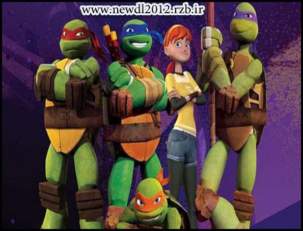 دانلود دوبله فارسی سریال Teenage Mutant Ninja Turtles 2012 لاک پشت های نینجا