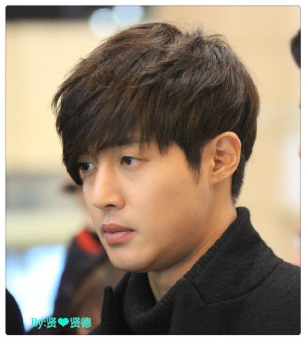 [Photo] Kim Hyun Joong at Gimpo And Hanida Airport [15.01.09]
