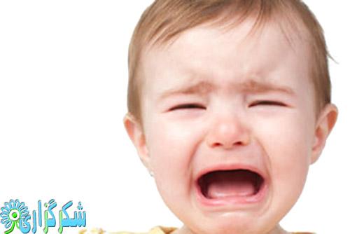 گریه جیغ کشیدن بچه کودک نوزاد اطفال علت پیشگیری جلوگیری