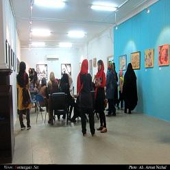 نمایشگاه نقاشی گروه برقع