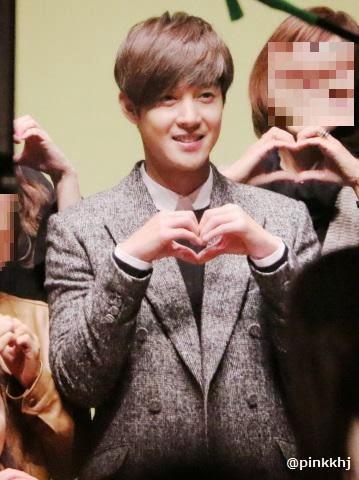 [pinkkhj Photo] Kim Hyun Joong Inspiring Generation DVD Handshake And Photo Shoot Event [15.01.10]