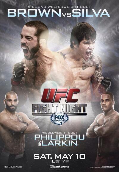 دانلود یو اف سی فایت نایت 40   UFC Fight Night 40 : Brown vs. Silva