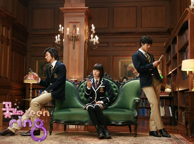 Boys over Flowers LG CF Commercial & Shooting