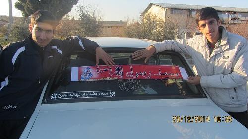 کمپین عاشقاان محمد در مرودشت