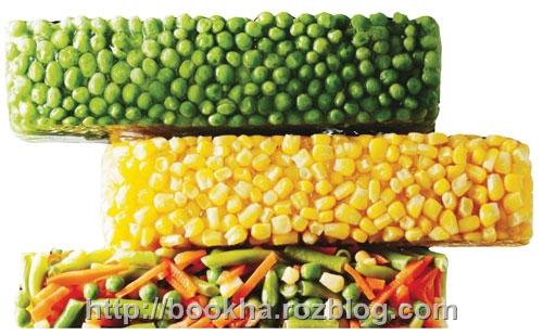 روش انجماد مواد غذایی در یخچال