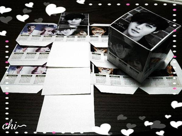 KHJ~GEMINI Calendar Boxes Project