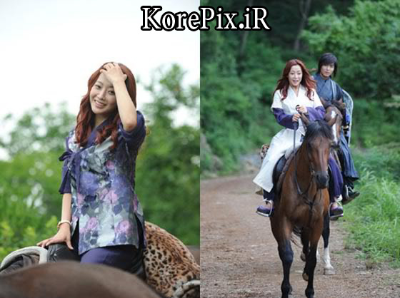 سوار اسب شدن یون سو و چویونگ