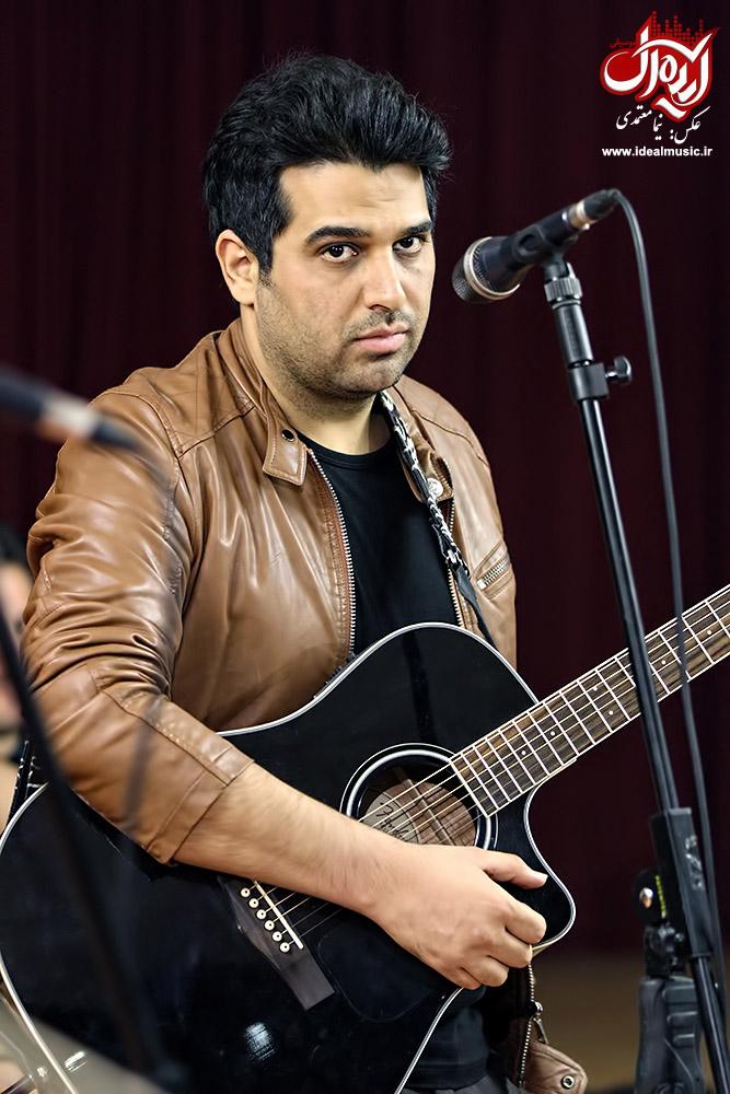 گزارش تصویری موسیقی ایده آل از تمرین کنسرت حمید عسکری