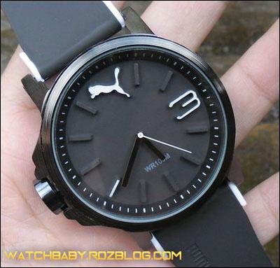 ساعت مچی پسرانه عقربه ای پوما رنگ مشکی