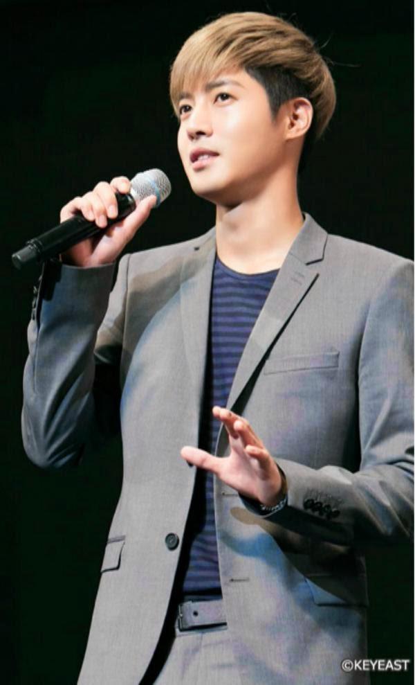[Photo] Kim Hyun Joong Japan Mobile Site Update [15.01.26]