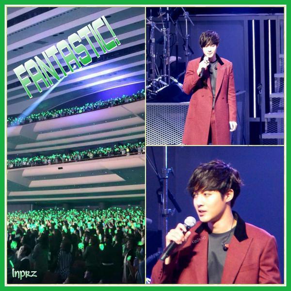 [Fanpic] Kim Hyun Joong Japan Tour 2015 GEMINI in Yokohama [15.01.27]