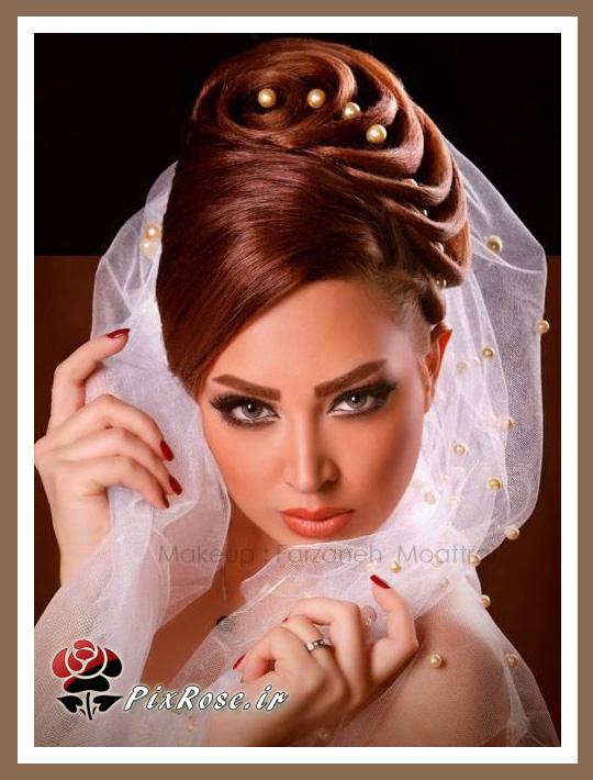 عکس تاج عروس ژله ای