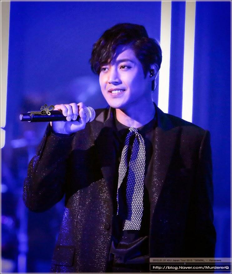 [MurdererQ Photo] Kim Hyun Joong Japan Tour 2015 GEMINI at Kanazawa Opera House (Ishikawa) [15.01.31]