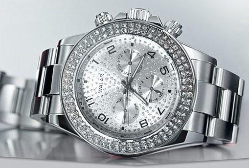 خرید پستی ساعت مچی ولکس رنگ نقره ای walar والار