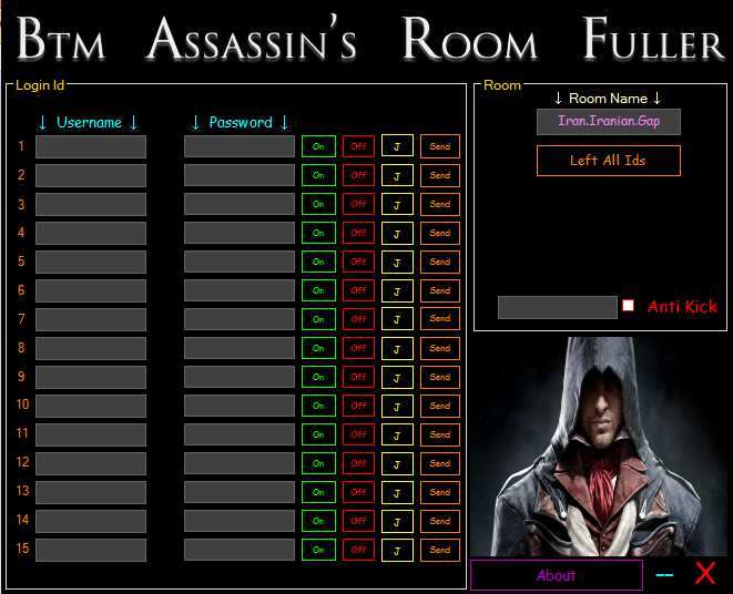BTM Assassin's Room Fuller R1
