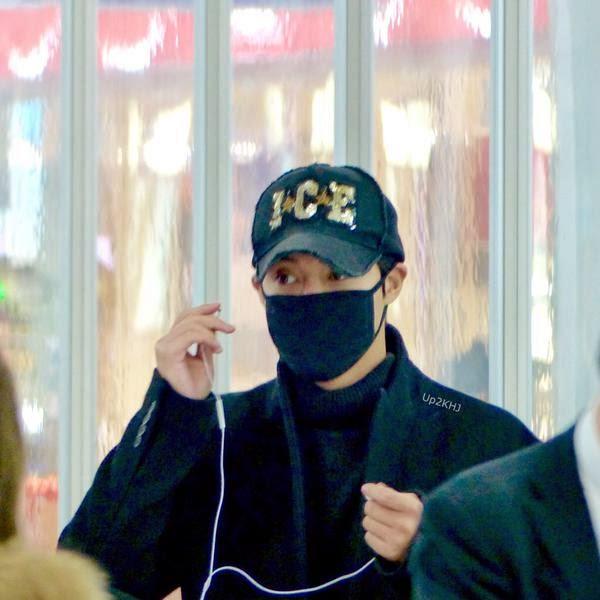 [Fanpic] Kim Hyun Joong - Komatsu Airport Ishikawa Departute to Sapporo [15.02.01]