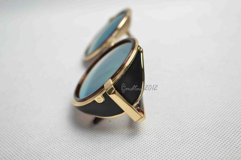 عینک آفتابی شیشه آبی مارک پرادا prada bullo