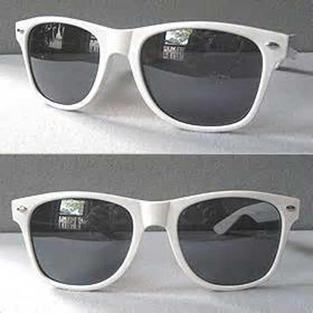 عینک ویفری دودی سفید
