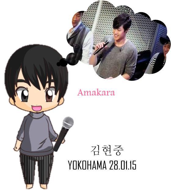 [Fanart] Cutie Hyun Joong Yokohama [15.01.28]