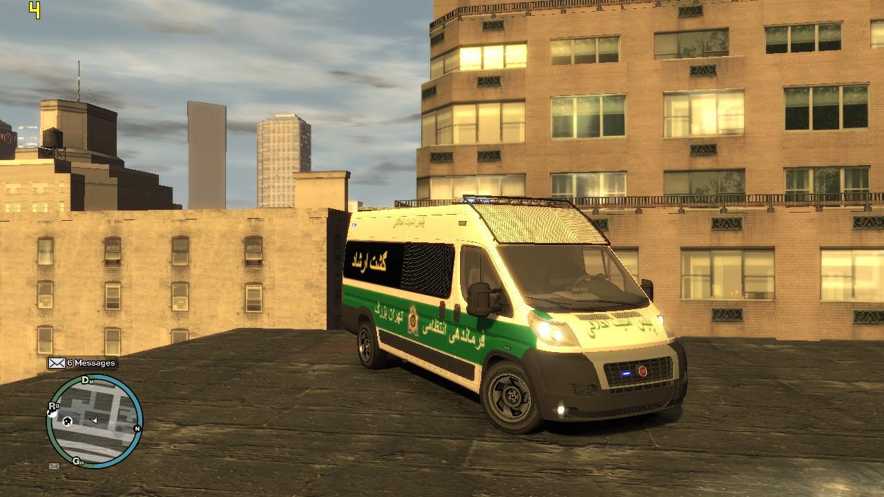 فیات دوکاتو گشت ارشاد برای GTA IV