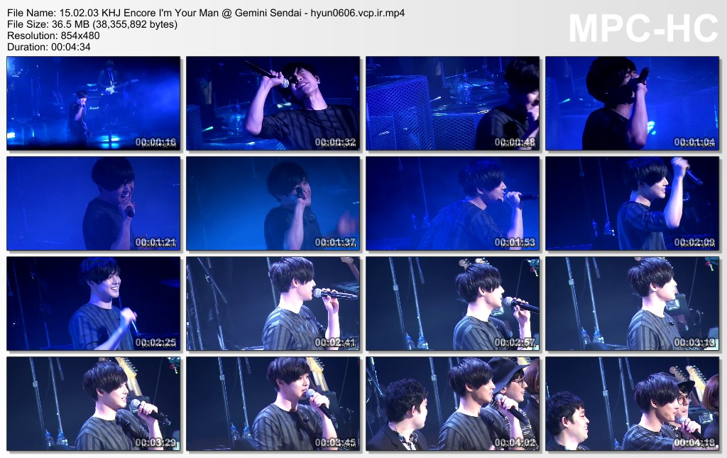 [HollisHyun Fancam] Kim Hyun Joong Japan Tour 2015 GEMINI in Sendai, Japan [15.02.03]