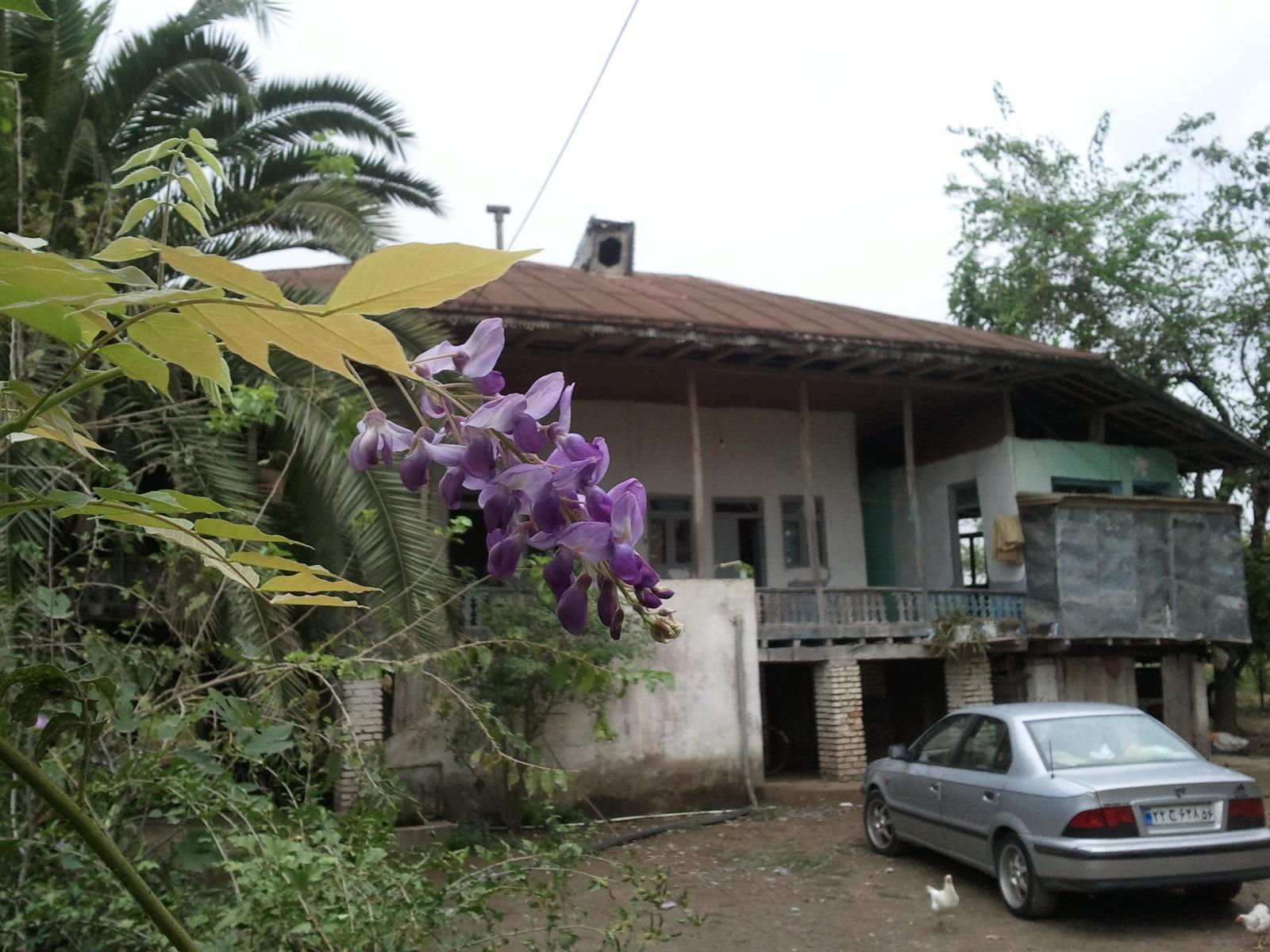 خانه پدربزرگ در روستای قاضی محله پهمدان خیابان شهدا