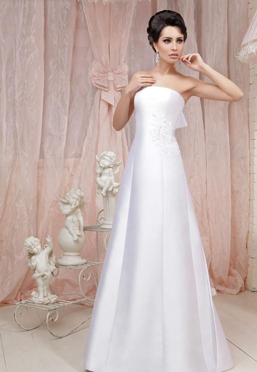 اورگانزا, دکلته, عروس 2015, لباس, لباس ساتن, لباس عروس, لباس عروس 2015, لباس عروس بهار 94, مدل, مدل لباس, مدل های عروس