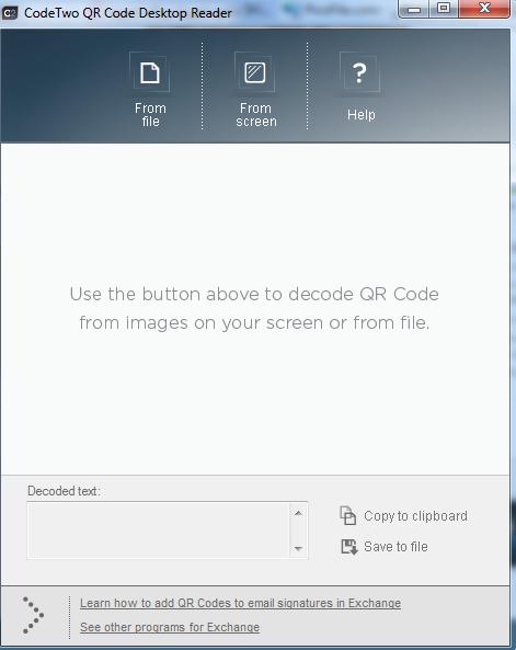 CodeTwo QR Code Desktop Reader /بار کد خوان برای کامپیوتر QrCodepic