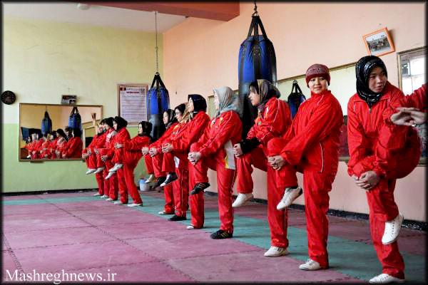عکس دختران ورزشکار افغان