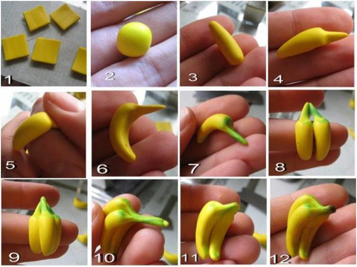 آموزش ساخت خمیری موز
