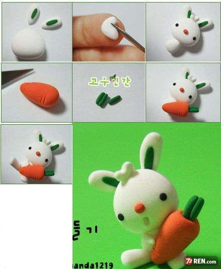 آموزش ساخت مجسمه های خرگوش