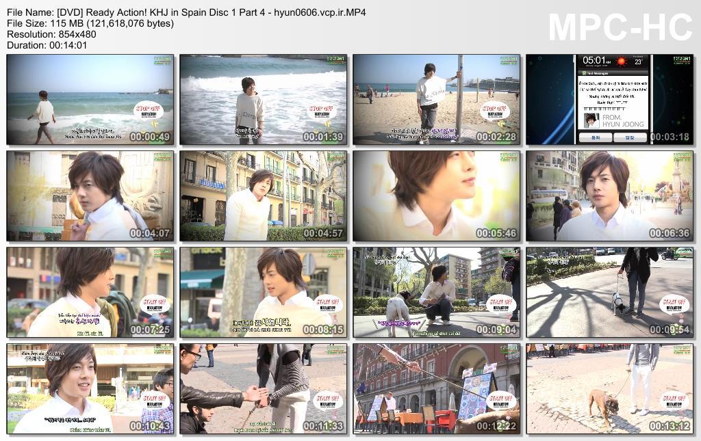 Ready. Action! Kim Hyun Joong in Spain Disc 1 Part 4