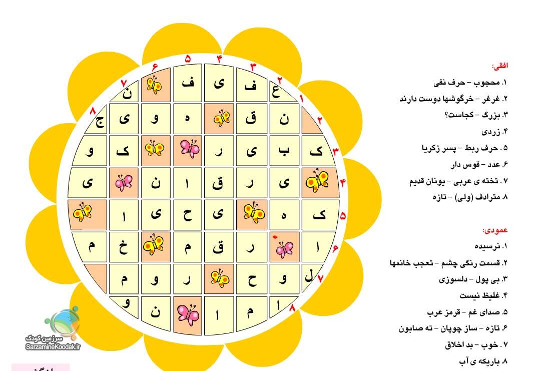 ع پورو فایل ماهای سال تولد چیستان لطیفه برای روزنامه دیواری