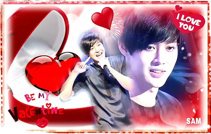 Happy 2015 Valentine Day Hyun Joong & Henecia