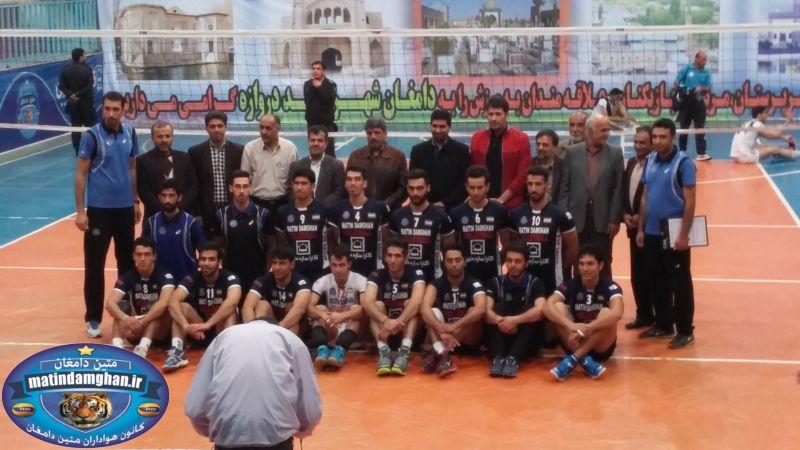 سالن 9 دی دامغان میزبان مرحله نهایی زیرگروه والیبال باشگاه های کشور