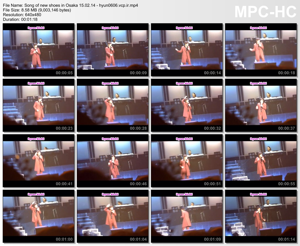 [hyun kichi Fancam] Kim Hyun Joong Japan Tour 2015 GEMINI in Osaka [15.02.14]