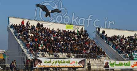 حمله عقاب ها به عمارت گرگانی ها