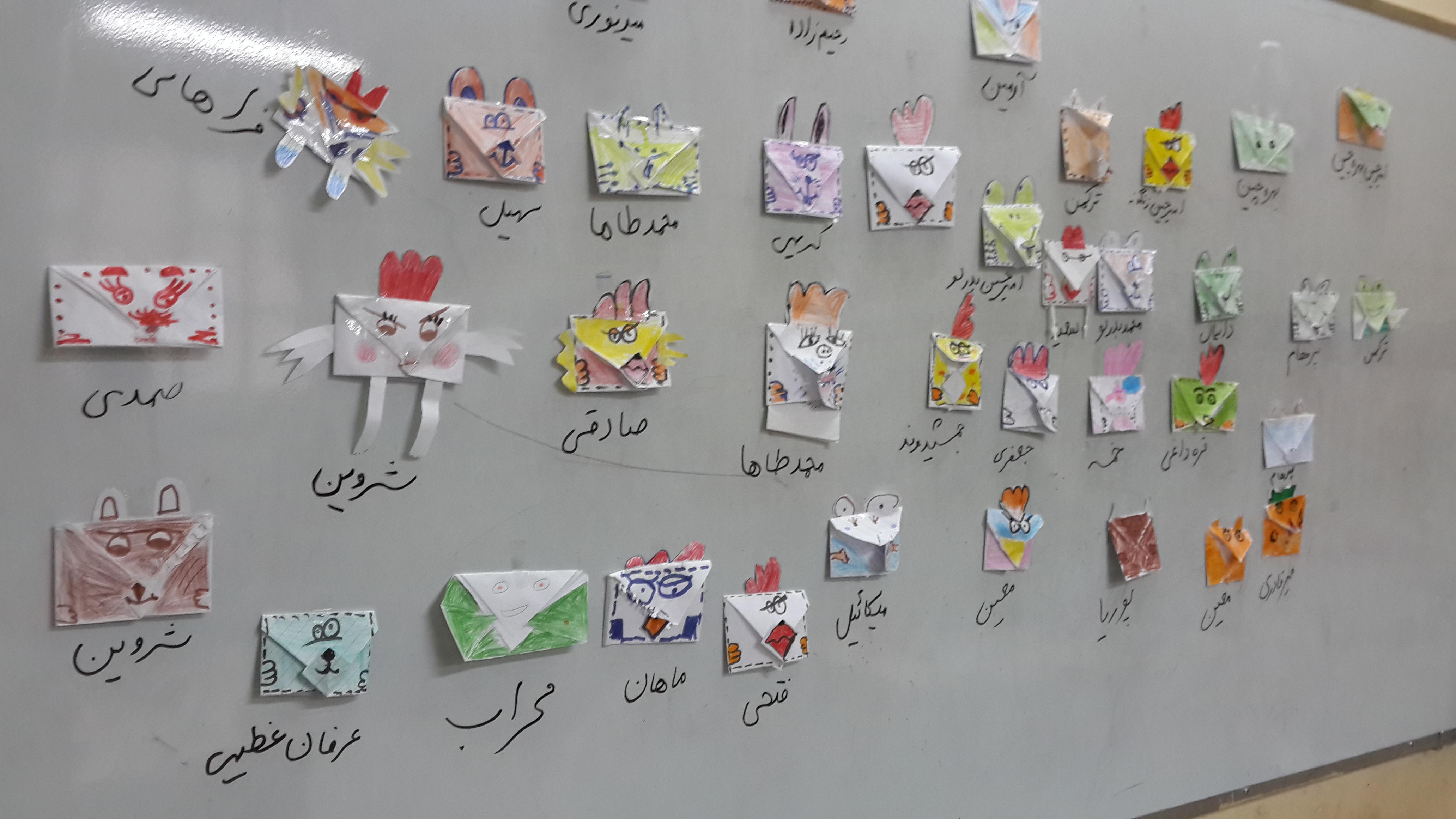 کلاسی برای بچه های خلاق - آموزش کاردستی