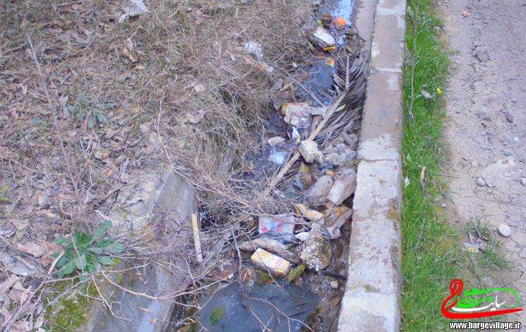 پاکسازی جوب های روستا کلید خورد