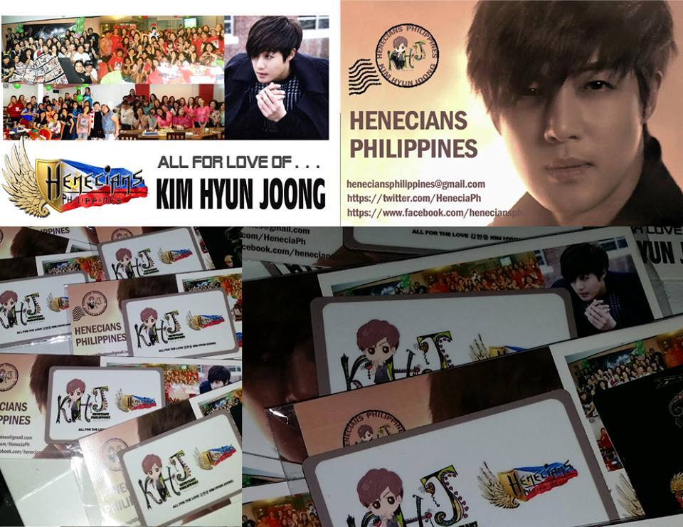 Henecians Philippines Gemini Makuhari Give Aways