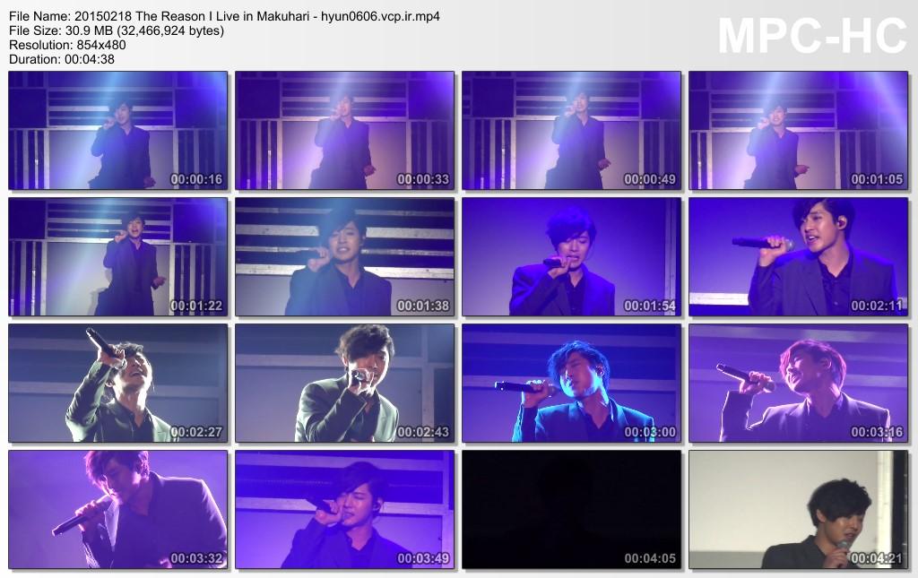 [sskjr12 Fancam] Kim Hyun Joong Japan Tour 2015 Gemini in Makuhari [15.02.18]
