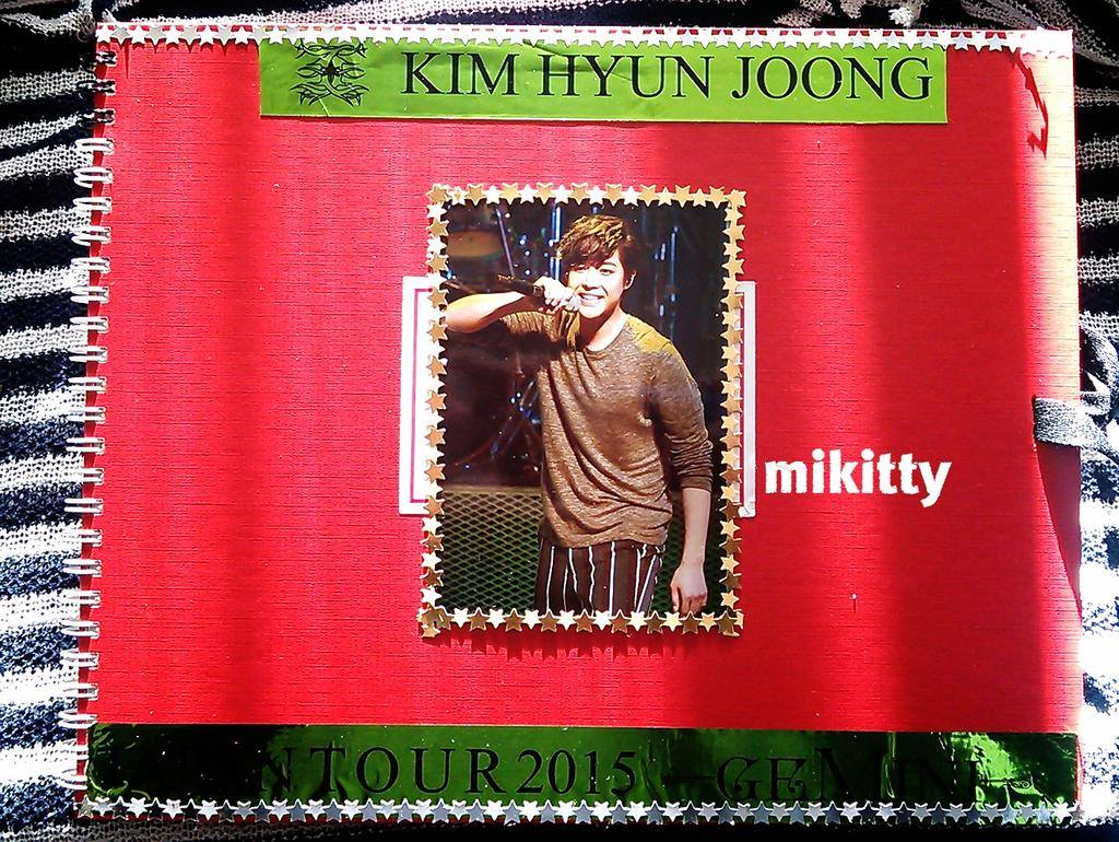 Message Book For Hyun Joong Was Completed - KHJ Is KHJ. No One Can Take Your Place