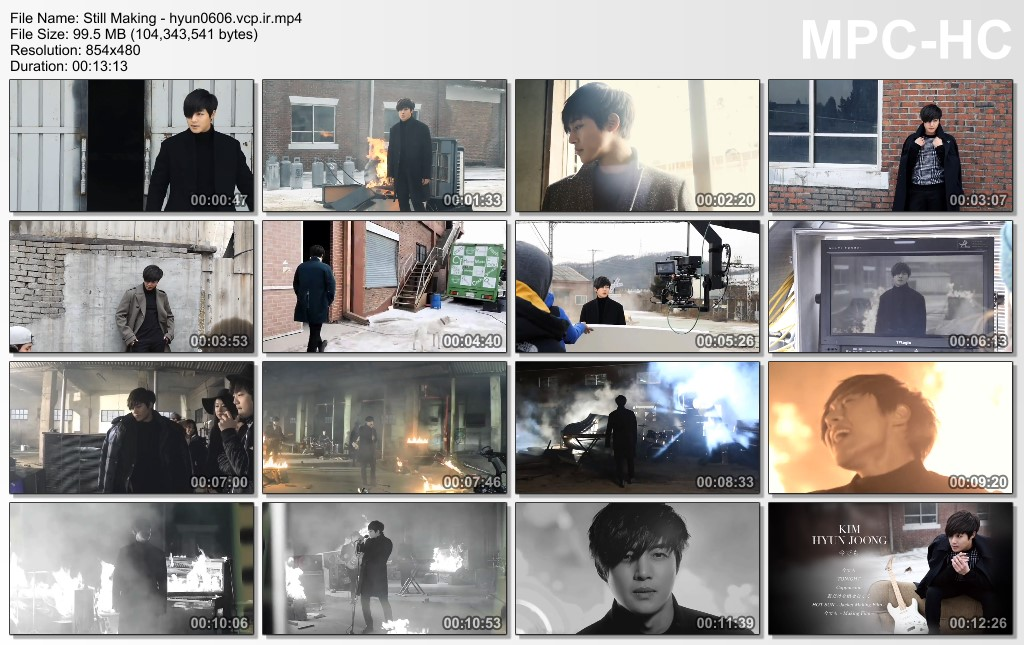 Video_Kim Hyun Joong - Still MV Making
