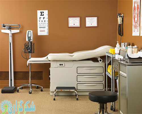 عکس تصویر مطب دکتر مجوز فعالیت نظام پزشکی آنلاین